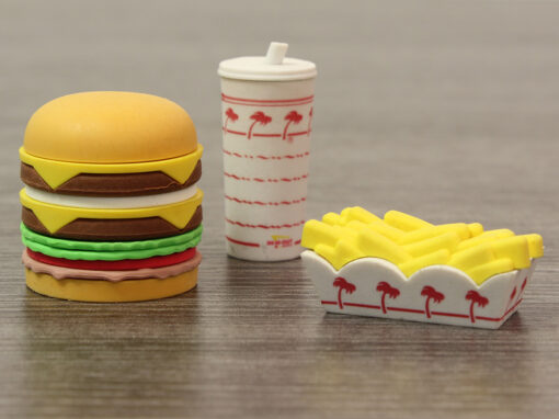 In-n-Out Puzzle Erasers