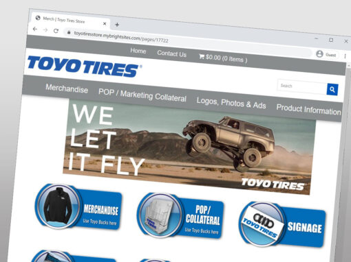 Toyo Tires USA Online Company Store